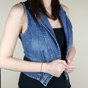 Fitted Jean Vest
